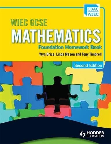 Wjec Gcse Mathematics. Foundation Homework Book: Brice; Brice, Wyn