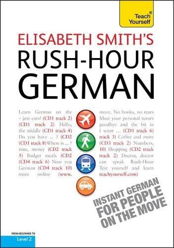 Rush-hour German: Teach Yourself (Teach Yourself Rush Hour): Smith, Elisabeth