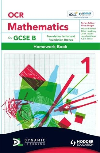 OCR Mathematics for GCSE Specification B -: Howard Baxter