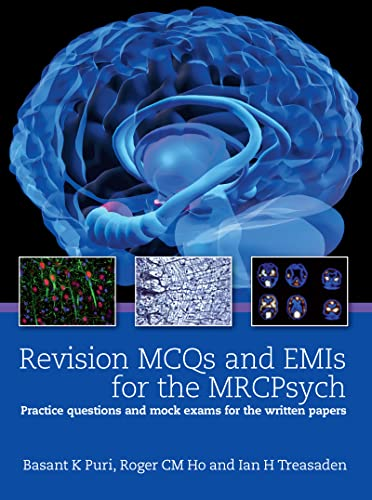 9781444118643: Revision MCQs and EMIs for the MRCPsych: Practice questions and mock exams for the written papers