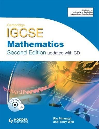 9781444123159: Cambridge Igcse Mathematics