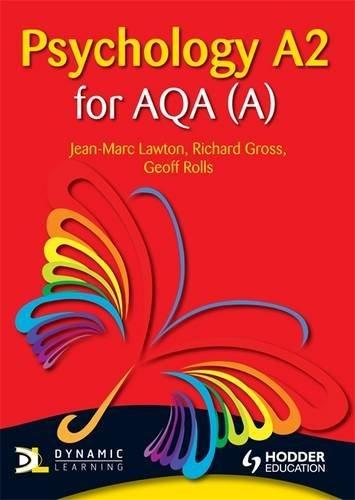 9781444123364: Psychology A2 for Aqa a