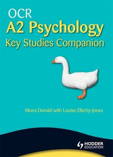 Ocr A2 Psychology Key Studies Companion: Moira Donald