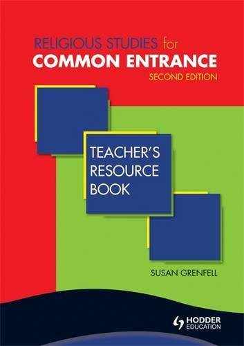 9781444124262: Religious Studies for Common Entrance Teacher's Resource Book Second Edition