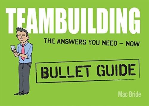 9781444132540: Teambuilding: Bullet Guides