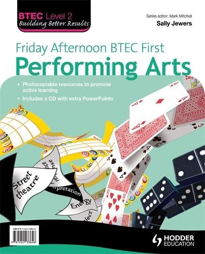 9781444133646: Friday Afternoon BTEC First Performing Arts Resource Pack + CD