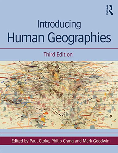 Gis chapter in 'introducing human geographies' | open geography.