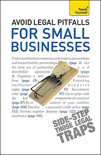 9781444137415: Avoid Legal Pitfalls for Small Businesses: An essential reference guide to law and litigation for SMEs (Teach Yourself)