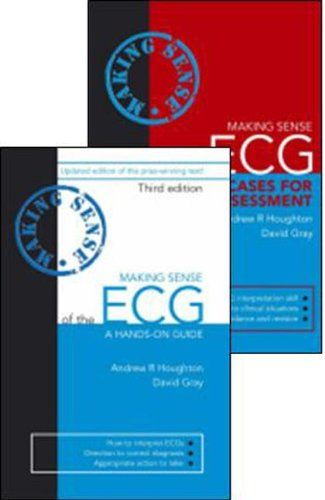 9781444137675: Making Sense of the ECG 3E with Cases for Self Assessment Pack