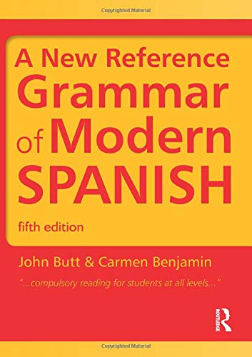 9781444137699: A New Reference Grammar of Modern Spanish: Volume 2 (Routledge Reference Grammars)