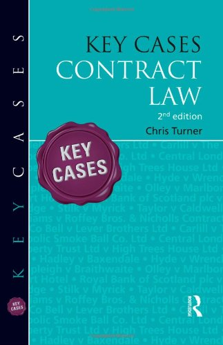 9781444137842: Key Cases: Contract Law (Key Facts)