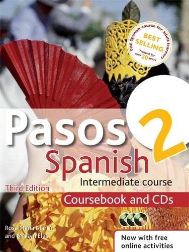 9781444139273: Pasos 2 3ed Spanish Intermediate Course: Coursebook and CDs