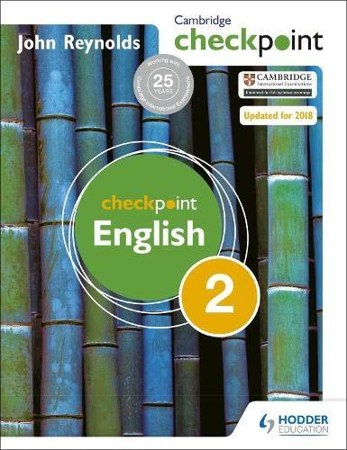 9781444143850: Cambridge Checkpoint English Student's Book 2