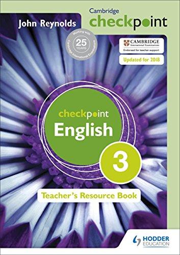 9781444143911: Cambridge Checkpoint English Teacher's Resource Book 3
