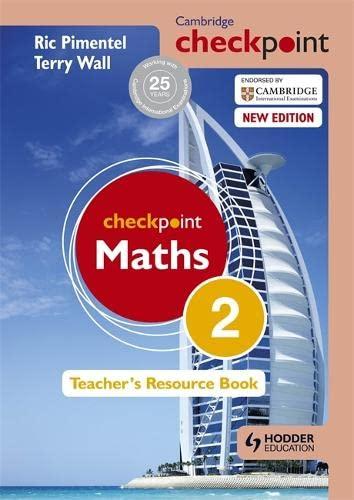 9781444143935: Cambridge Checkpoint Maths Teacher's Resource Book 2