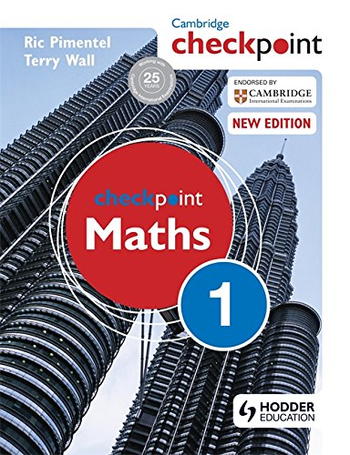 Checkpoint Maths 1 (1444143956) by Ric Pimentel; Terry Wall