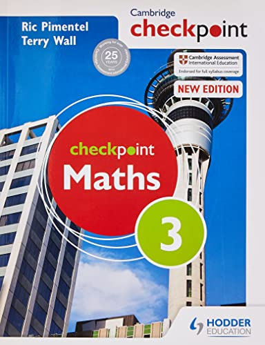Cambridge Checkpoint Maths: Student's Book Bk. 3: Wall, Terry, Pimentel, Ric