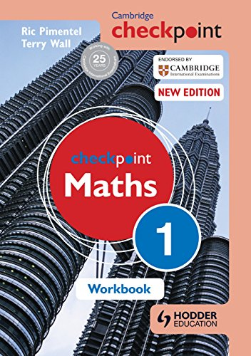 Cambridge Checkpoint: Maths Workbook, 1: Ric Pimentel,Terry Wall