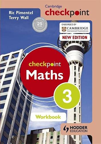 Cambridge Checkpoint: Maths Workbook, 3: Ric Pimentel,Terry Wall