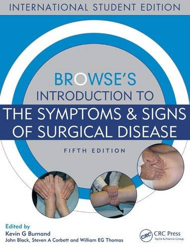 9781444146059: Browse's Introduction to the Symptoms & Signs of Surgical Disease, Fifth Edition
