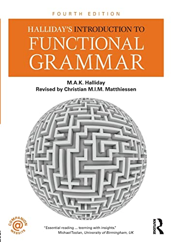 9781444146608: Halliday's Introduction to Functional Grammar