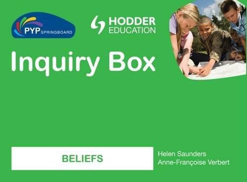 9781444147384: PYP Springboard Inquiry Box: Beliefs