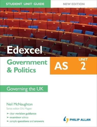 9781444148152: Edexcel as Government & Politics. Student Unit Guide
