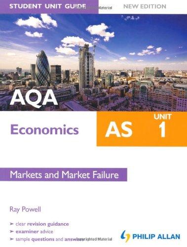 Aqa as Economics Unit 1, . Markets and Market Failure: Powell, Ray