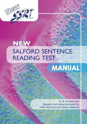 9781444149456: New Salford Sentence Reading Test: Specimen Set