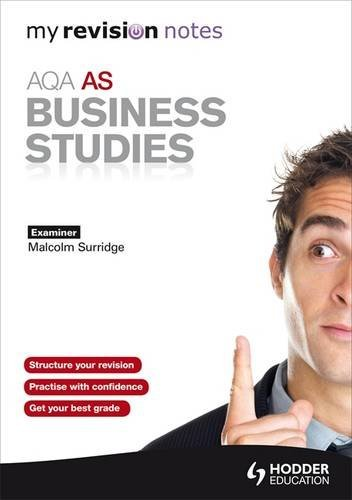 9781444152562: My Revision Notes: AQA AS Business Studies (MRN)