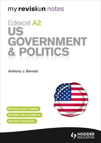 9781444152623: My Revision Notes: Edexcel A2 US Government & Politics