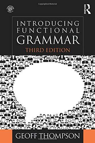 9781444152678: Introducing Functional Grammar