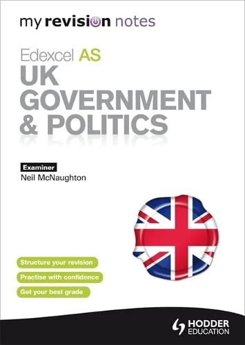 9781444154870: Edexcel as UK Government & Politics (My Revision Notes)