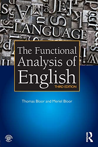 9781444156652: The Functional Analysis of English