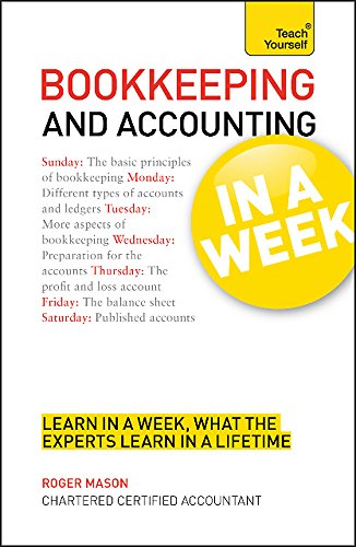 9781444158748: Bookkeeping and Accounting in a Week: Teach Yourself