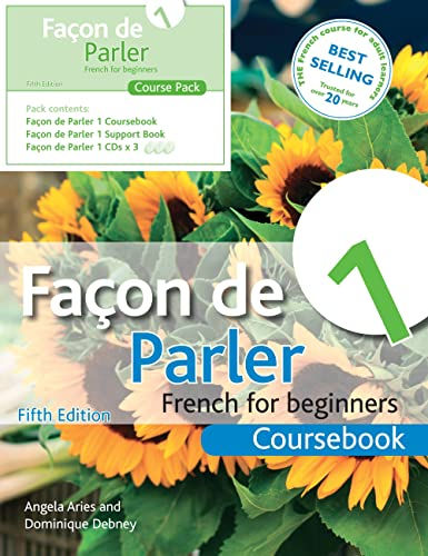 9781444168419: Facon de Parler 1 French for Beginners: Course Pack (Book & CD Course Pack)