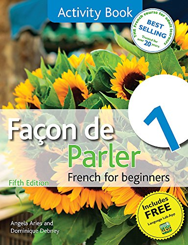 9781444168426: Facon de Parler 1 French for Beginners 5ED: Activity Book
