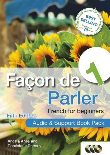 9781444168457: Facon de Parler 1 French for Beginners: Audio & Support Book Pack 5ED
