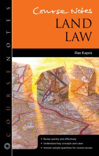 9781444169164: Course Notes: Land Law