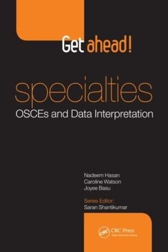 9781444170177: Get ahead! Specialties: OSCEs and Data Interpretation
