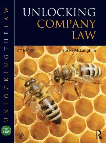Unlocking Company Law: McLaney, Sue