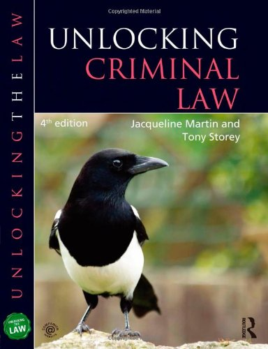 9781444171099: Unlocking Criminal Law (Unlocking the Law)