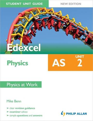 9781444171464: Edexcel AS Physics Student Unit Guide: Unit 2 Physics at Work