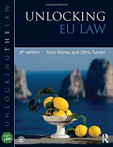 9781444174199: Unlocking EU Law (Unlocking the Law)