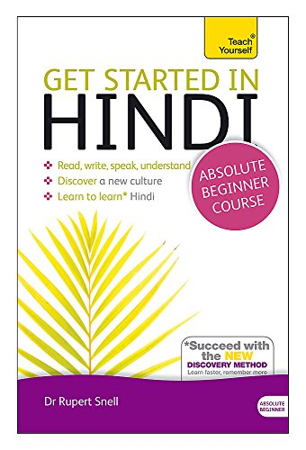 9781444174687: Teach Yourself Get Started in Hindi: Absolute Beginner Course: (Book and audio support)