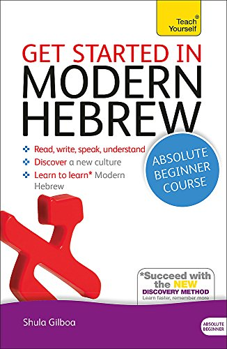 9781444175110: Get Started in Modern Hebrew Absolute Beginner Course: (Book and audio support) (Teach Yourself)