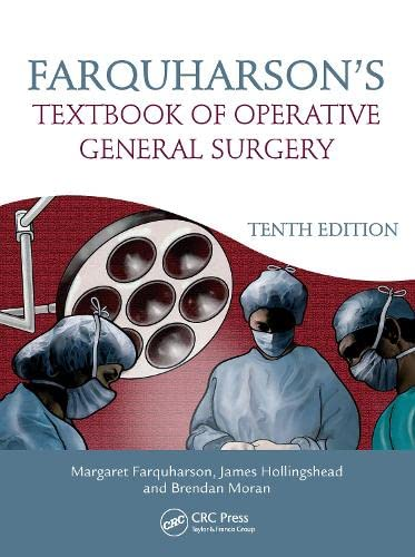 Farquharson's Textbook of Operative General Surgery, 10th Edition (Hardcover): Farquharson