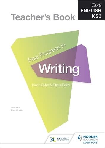 Core English KS3                                                      Real Progress in Writing ...