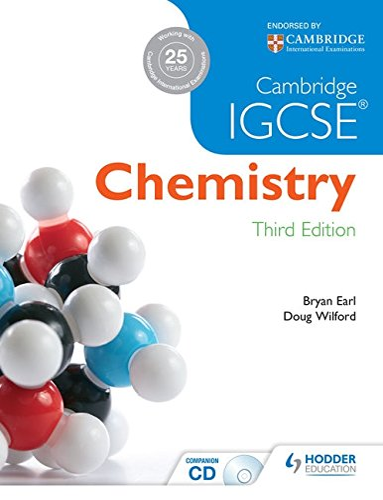 9781444176445: Cambridge IGCSE Chemistry 3rd Edition plus CD [Lingua inglese]