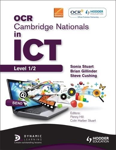 9781444176537: OCR Cambridge Nationals in ICT Student Book
